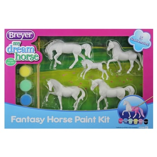 Breyer Stablemates My Dream Horse Fantasy Horse Paint Kit with 5 Plastic Horses