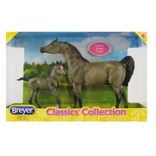 Breyer Classics Arabian Horse and Foal Set