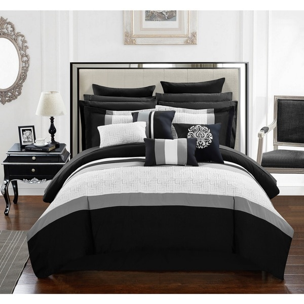 Chic Home 16-Piece Keira King Bed In a Bag Comforter Set