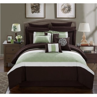 Link to Chic Home 16-Piece Keira King Bed In a Bag Comforter Set Similar Items in Bed-in-a-Bag
