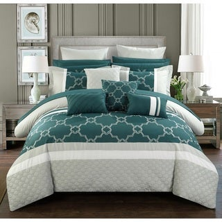 Chic Home 16-Piece Casper King Bed In a Bag Comforter Set