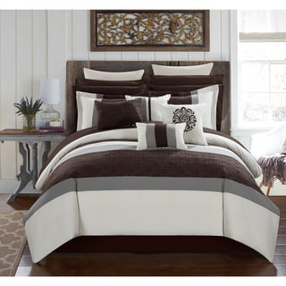 Chic Home 16 Piece Keira King Bed In A Bag Comforter Set