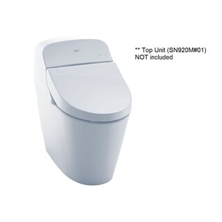 Toto G400 Toilet Bowl CT920CEMFG#01 Cotton White