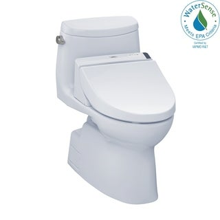 Toto Carlyle II White Elongated Toilet