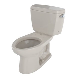Toto Drake Elongated 2-piece Bone Vitreous China Toilet