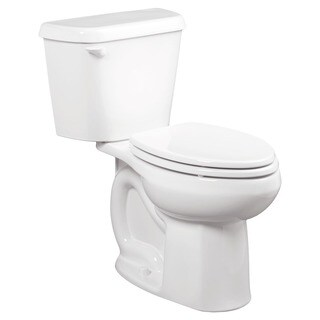 American Standard Colony White Vitreous China Elongated 2-piece Toilet