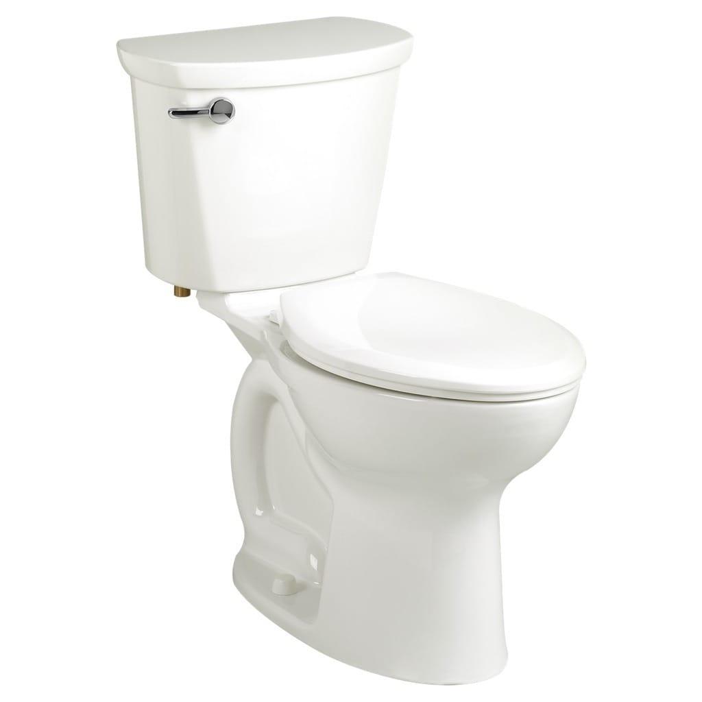 American Standard Cadet White China Round 2-piece Toilet ...