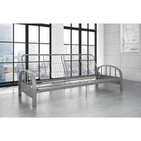 Porch & Den Wicker Park Cortez Silver Futon Frame