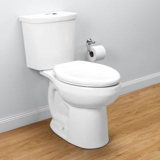 American Standard H2Option Elongated White Toilet