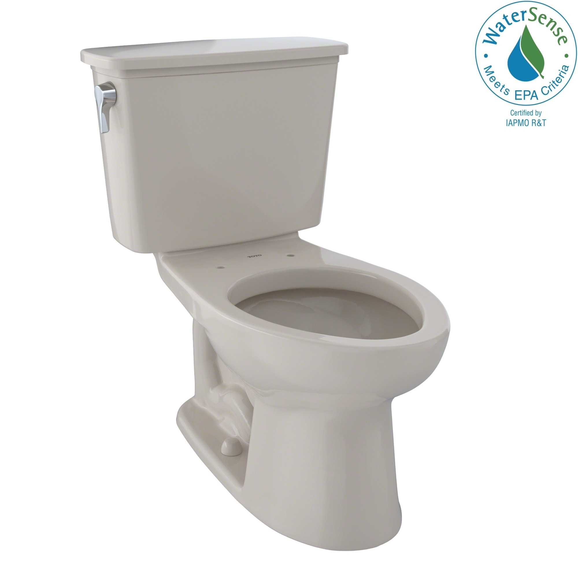 Toto Drake Bone (Ivory) China Elongated 2-piece Toilet (B...