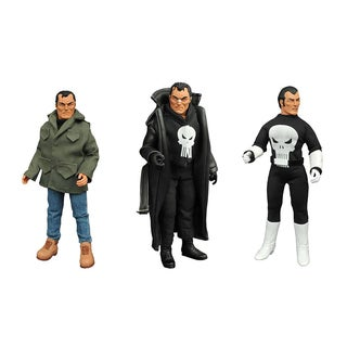 Diamond Select Toys Marvel Punisher 8-inch Retro Action Figure Set