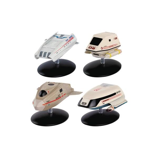 Diamond Select Toys Star Trek Starships Figurine Set #3 Shuttlecraft Part 2