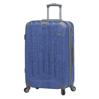 Cestino 27-inch Hardside Spinner Upright Suitcase (Option: Blue)
