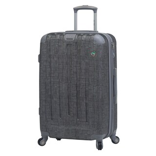 Cestino 27-inch Hardside Spinner Upright Suitcase (Option: Silver)