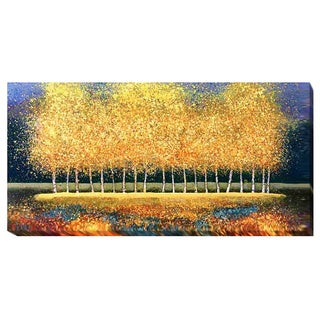 Melissa Graves-Brown 'Golden Stand' Gallery-wrapped Canvas Giclee Art