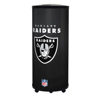 NFL Oakland Raiders 39.5-inch Ice Barrel Cooler