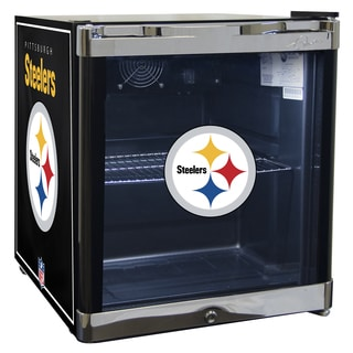 NFL Pittsburgh Steelers 1.8 Cubic Foot Refrigerated Beverage Center