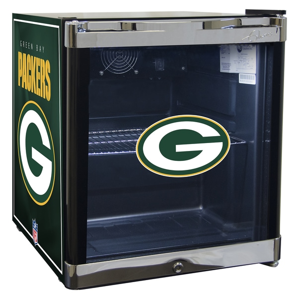 NFL Refrigerated Beverage Center 1.8 ct ft- Green Bay Packers