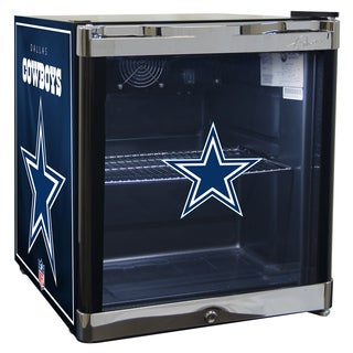 NFL Dallas Cowboys 1.8 Cubic Foot Refrigerated Beverage Center