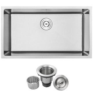 Phoenix 31 1/4-inch Stainless Steel Undermount Single Bowl Kitchen Sink