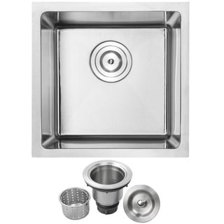Phoenix 16-inch Stainless Steel Single Bowl Undermount Kitchen Sink