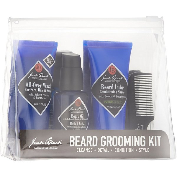 jack black beard grooming kit free shipping on orders over 45 overstock. Black Bedroom Furniture Sets. Home Design Ideas