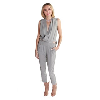 Hadari Women's Jessie Jumpsuit (2 Piece Set) (Option: Grey)