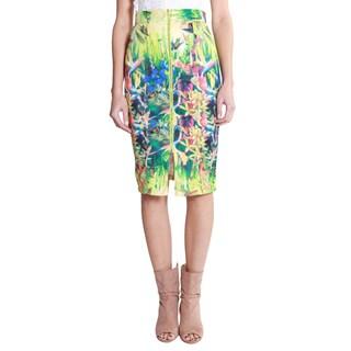 Hadari Women's Zipper Front Pencil Skirt