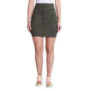 Hadari Women's Casual Short Mini Skirt