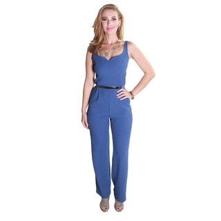 Hadari Women's Stylish Sexy Sleeveless Jumpsuit