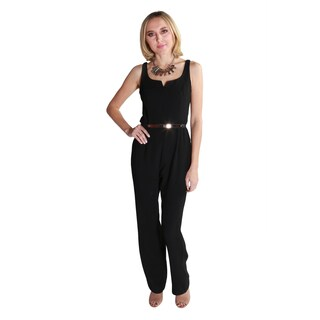 Hadari Women's Casual Sexy Sleeveless Jumpsuit