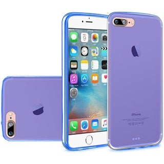 Insten Frosted TPU Rubber Candy Skin Case Cover For Apple iPhone 7 Plus