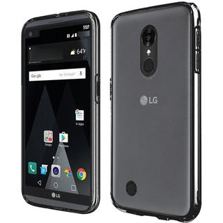 Insten Hard Snap-on Dual Layer Hybrid Crystal Case Cover For LG Aristo/ LV3