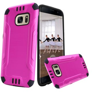 Insten Hard Snap-on Dual Layer Hybrid Case Cover For Samsung Galaxy S7 Edge