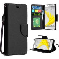 Insten Leather Case Cover Lanyard with Stand For HTC 10/ Bolt