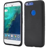 Insten Rugged Silicone Skin Gel Rubber Case Cover For Google Pixel XL