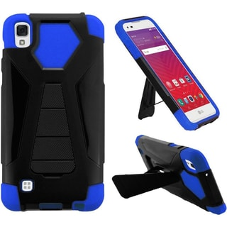 Insten Hard PC/ Silicone Dual Layer Hybrid Case Cover with Stand For LG Tribute HD/ X STYLE