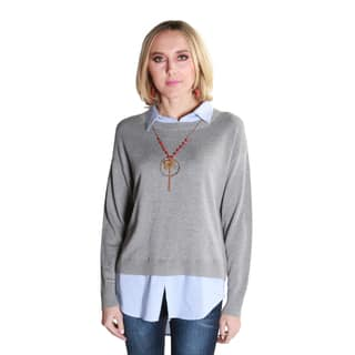 Hadari Women's Taylor Pullover Sweater|https://ak1.ostkcdn.com/images/products/14508906/P21064755.jpg?impolicy=medium
