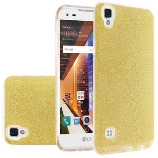 Insten Hard Snap-on Dual Layer Hybrid Glitter Case Cover For LG Tribute HD/ X STYLE