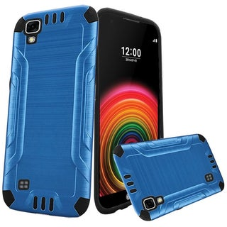 Insten Hard Snap-on Dual Layer Hybrid Case Cover For LG X Power