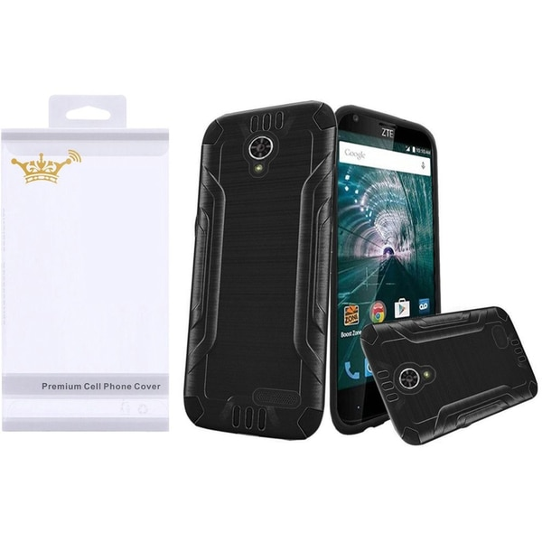 new style 29c23 6c679 Shop Insten Dual Layer Hybrid PC/ TPU Rubber Case Cover With Screen ...