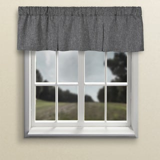 Dalton 2 Pleat Rod Pocket Lined Tailored Valance