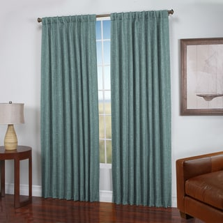 Dalton Natural Woven 2-way Rod Pocket Curtain Panel