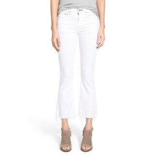 Rag Bone Women's White Denim Size 24 Flare Jeans