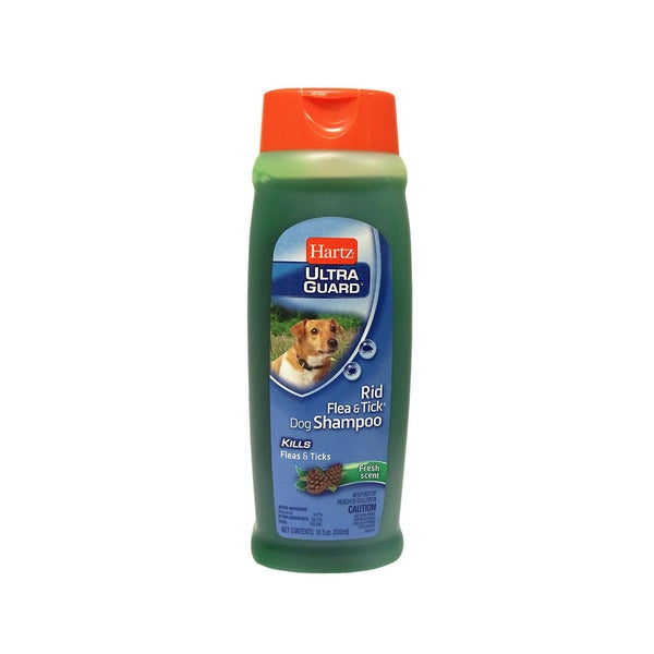 Hartz Rid Flea and Tick Fresh Scent 18-ounce Dog Shampoo