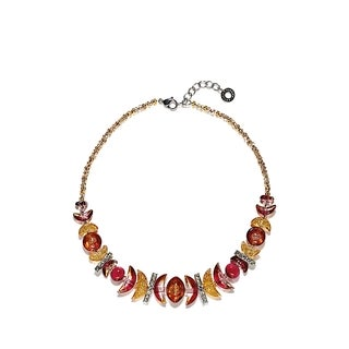 Antica Murrina Elite Collection Stainless Steel, Necklace with Fancy Elements