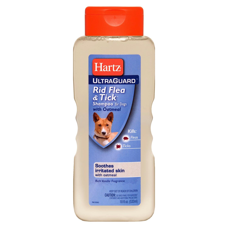 Hartz Ultra Guard Rid 18-ounce Flea and Tick Oatmeal Dog ...