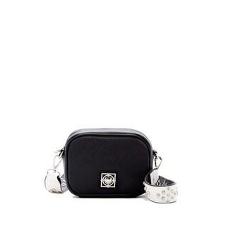 Catherine by Catherine Malandrino Mara Black/White Crossbody Camera Handbag