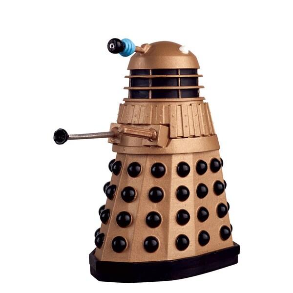 Diamond Select Toys Doctor Who #1 Golden Dalek Figurine