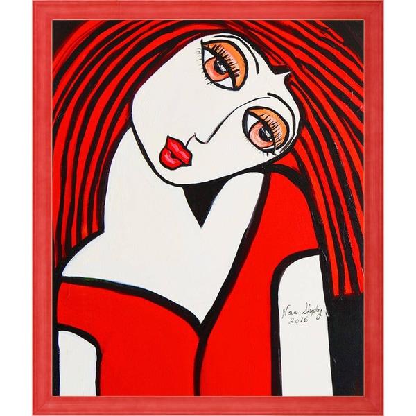 Nora Shepley 'Ruby' Fine Art Print on Canvas